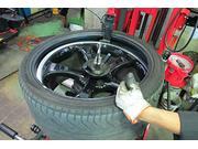 タイヤ専門のプロショップ!持込タイヤも当店にお任せください。