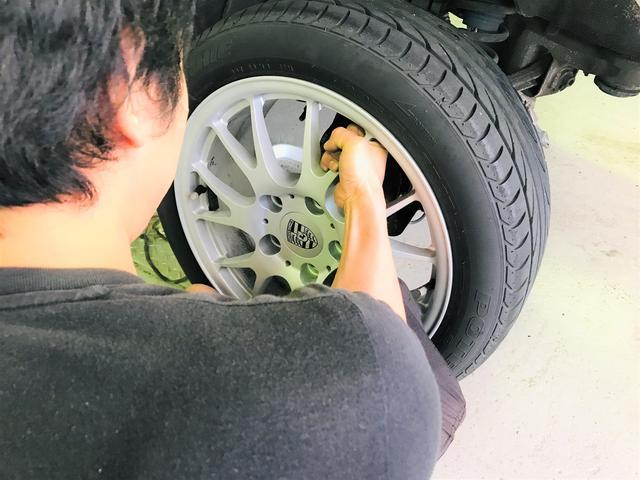 タイヤ交換もOK