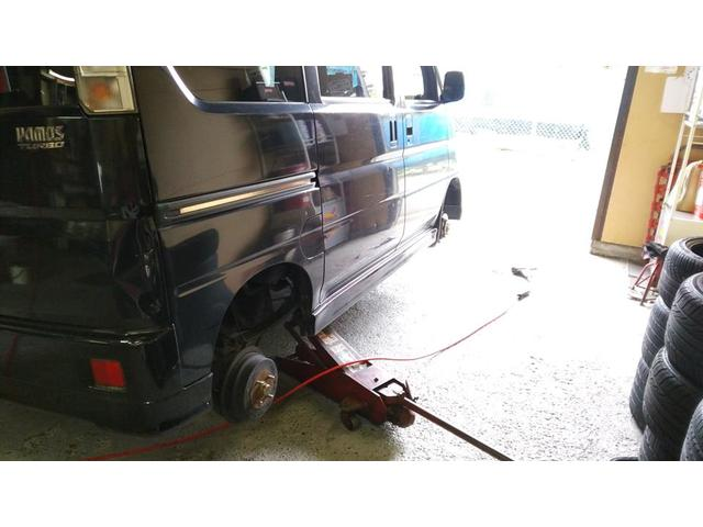 軽自動車から4WDまで、タイヤ交換はお任せ下さい。