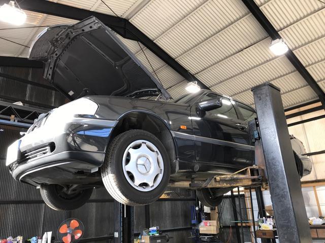 他店で輸入車整備を断られたお客様にもご入庫頂いております!