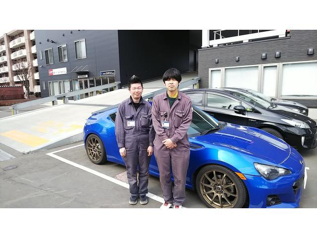 サービススタッフ:佐藤&藤本です