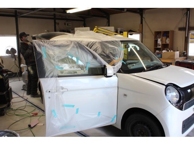 板金塗装、修理だけでなく、パーツ取付、メンテナンスも対応しております!