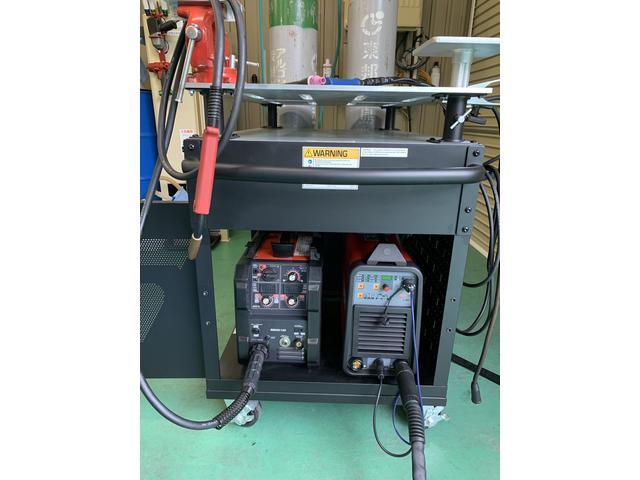 溶接修理も可能です。Tig溶接機による、綺麗で薄物やアルミ、ステンレス、チタンまで対応可能です。