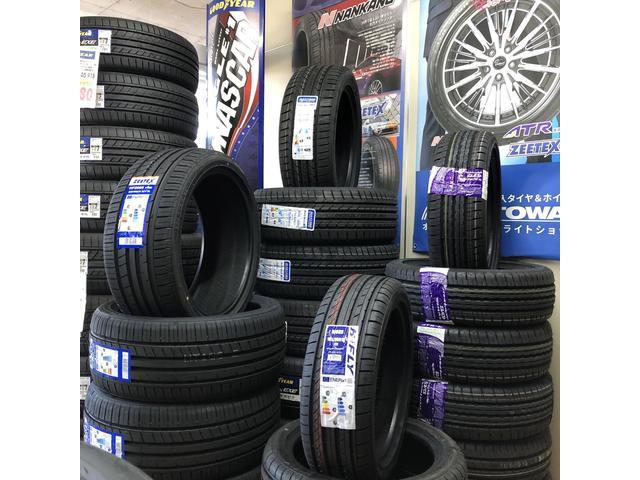 タイヤの販売も行っておりますので、お気軽にご覧ください!