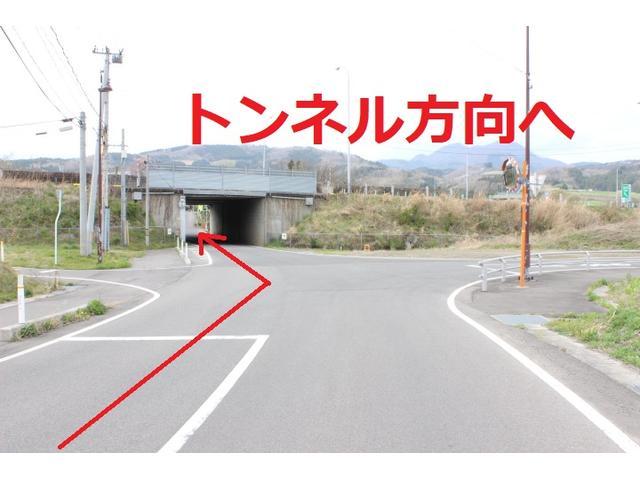 トンネル(東北自動車道)をくぐります。