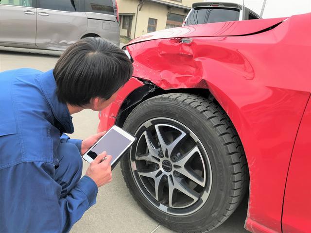 先ずは、お車の状態を詳細にチェック