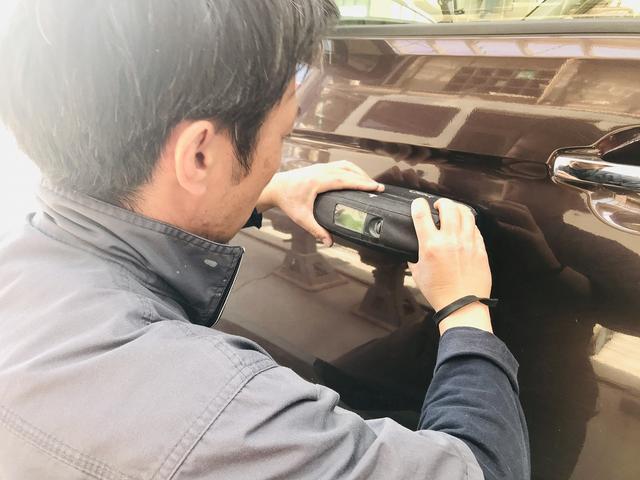 塗装分析カメラで愛車のカラーをチェック