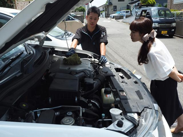 整備終了時には国家資格を保有した整備士から直接お車の状態をお伝え致します。