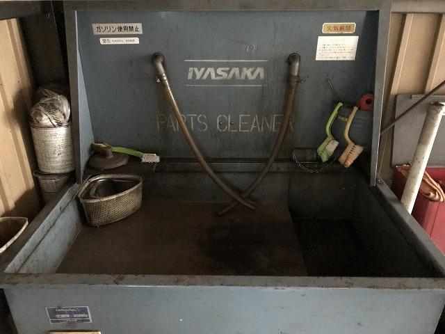 パーツの洗浄の可能です。お任せ下さい。