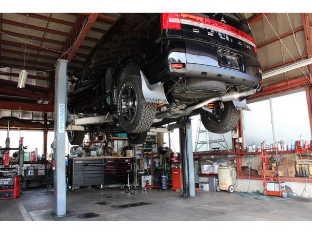 車検や12か月点検も対応しております。