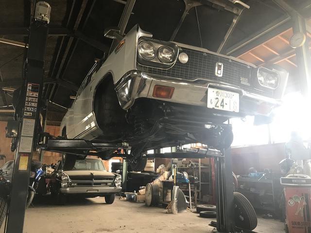 旧車の修理や整備もお任せください!!愛車の調子が・・・そんな時は是非当店へご相談ください!!
