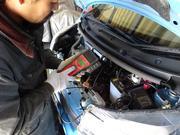 エアコン、バッテリーなどの電装系修理