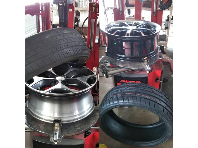 タイヤ交換致します。20インチまで対応致します。