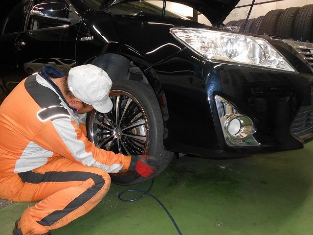 タイヤのメンテナンス、交換、販売、なんでもご相談ください。