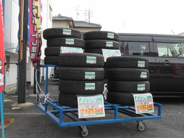 新品タイヤの在庫もございます!