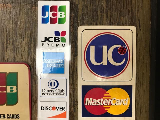 カードでのお支払いも可能です。