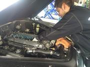 エンジン関連修理・整備(冷却系、過給器系点火・燃料系関連)