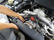 エンジン、ラヂエターなどの取付