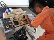 エアコン周り、バッテリー、電装系修理