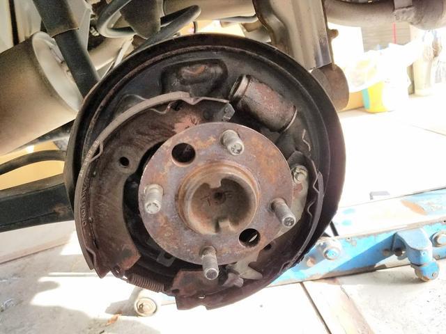 ブレーキや足廻り修理もお任せ下さい!