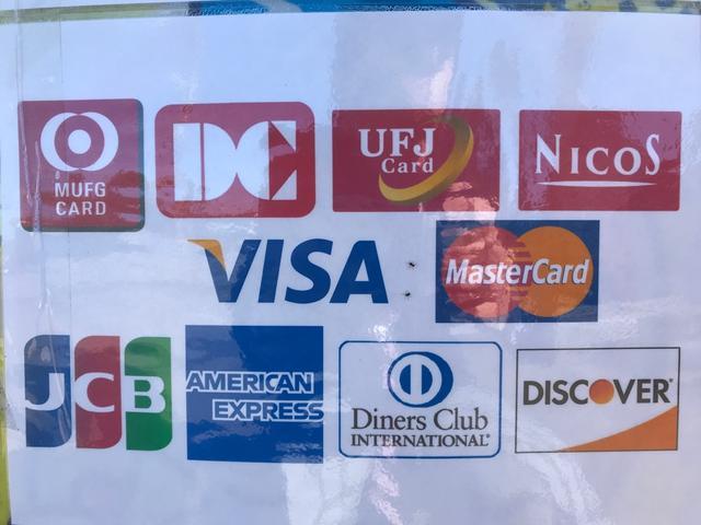 各種お支払方法をお選び頂けます。