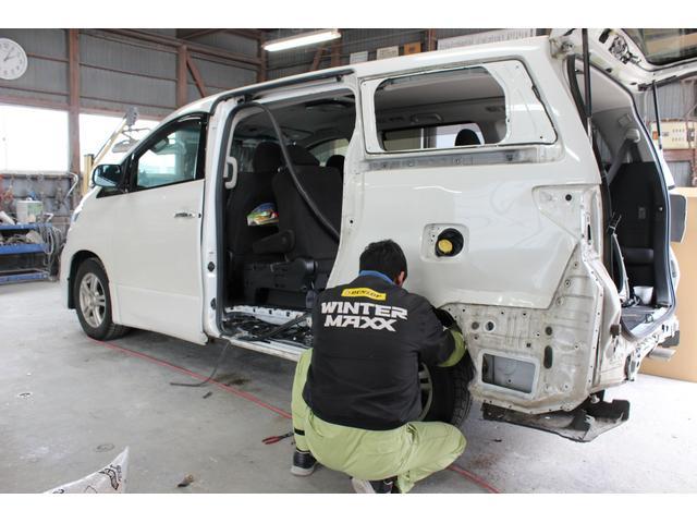 板金工場完備で保険修理・実費修理も可能です。