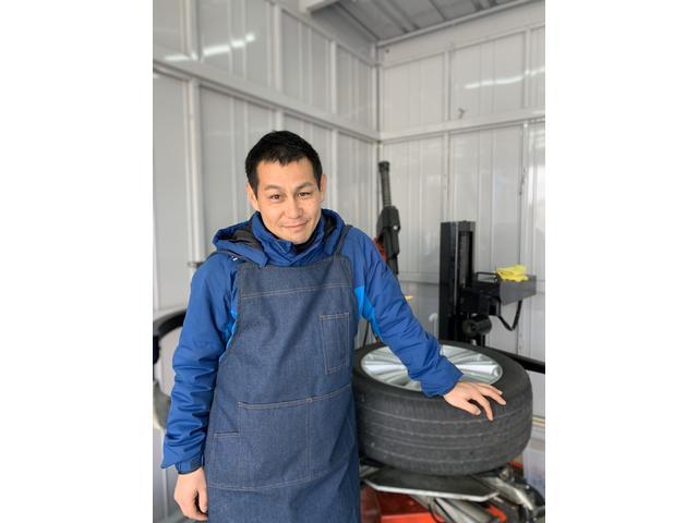 イチマルガレージはタイヤ交換を中心にお客様を一生懸命サポートいたします