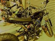 バイクの塗装も