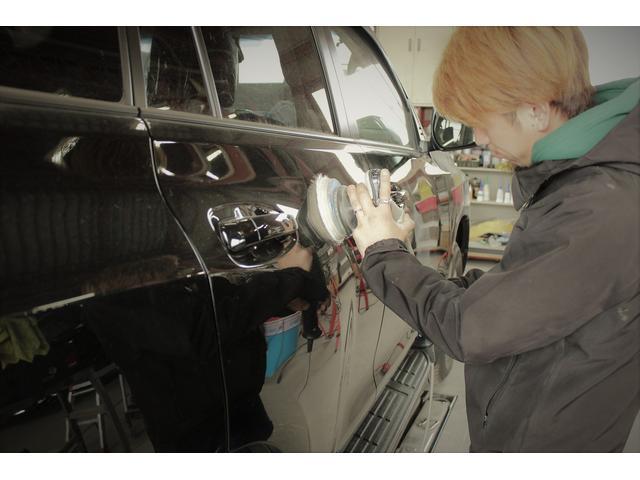 お車の状態、ボディーカラーなどに合わせて施工しております!
