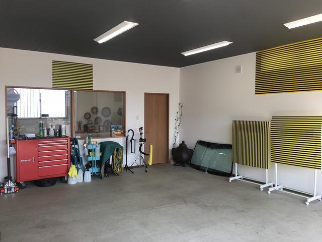 しっかりデントリペア・ウインドリペアの作業環境が整っている作業場で、サービスを提供しております。