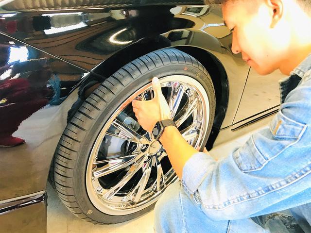 タイヤ交換はモチロン・・・