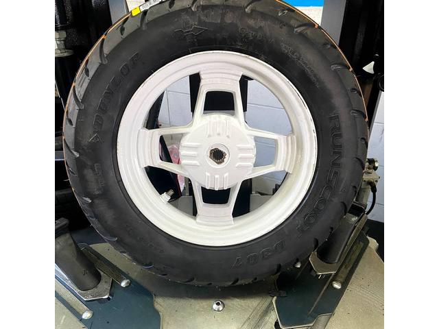 原付やバイクのタイヤも車両から取り外して持ち込んで頂ければ作業可能です!