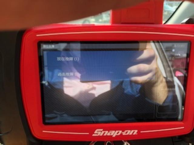 スナップオン診断機を常備しております!
