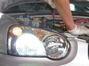 ライト・ウィンカー類パーツの修理・整備を行います。