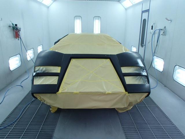塗装ブース完備 板金・塗装修理・仕上げまで当社でばっちり修理致します!!