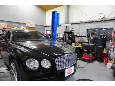 輸入車の修理・メンテナンスもお任せ下さい