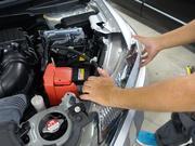 ライト・ウィンカー等灯火器の修理・整備を行います。