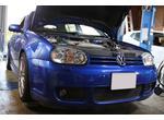 """ゴルフ4R32 VW50200 モチュール  H-TECH PRIME 5W40  エンジンオイル交換                    【フォルクスワーゲンの車検・修理は名古屋の""""VW専門店""""スズキワークスにおまかせください。】"""