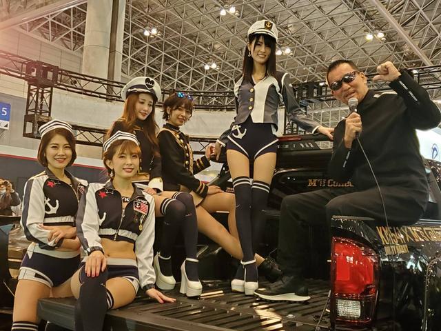 東京オートサロン2020 M's Collection ブース