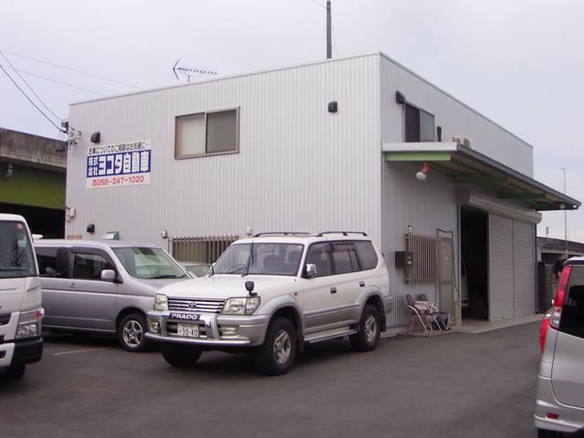 国道21号長森インターチェンジを降りれば当店です。名古屋からでも30分〜50分で当店です