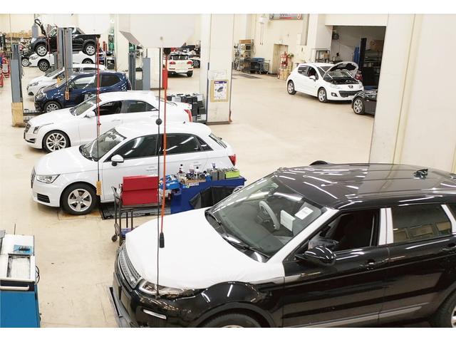 板金・塗装や車検まで対応する充実設備と、正規ディーラーで経験を積んだメカニックの対応で万全です。