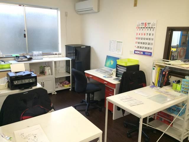当店の事務所兼商談室です。