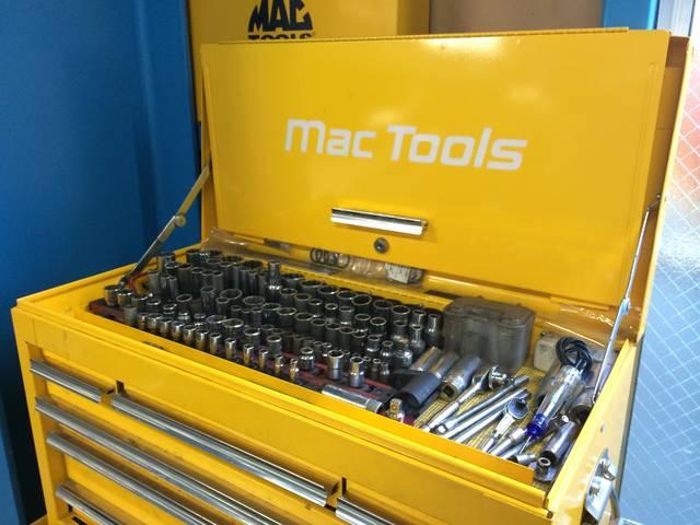 こだわりのMac Toolsであなたのお車を整備します