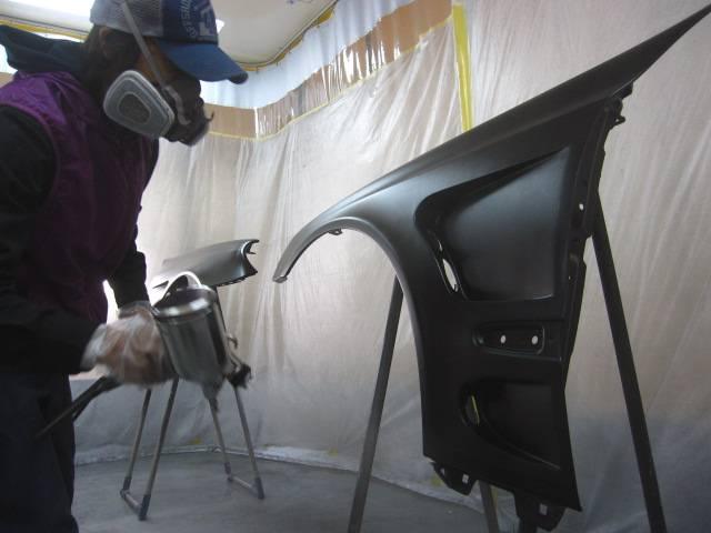 エアロの取り付けなども得意分野です! 塗り分け塗装やワンオフフェンダー加工も大歓迎☆