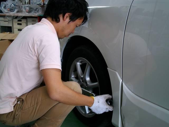 タイヤ交換お気軽に・・・・