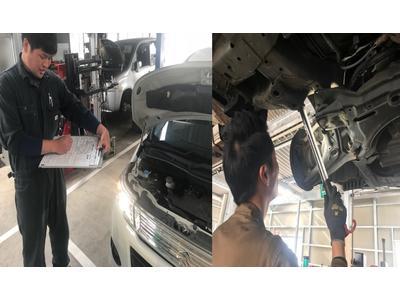 車検整備も国家資格整備士にお任せ下さい!