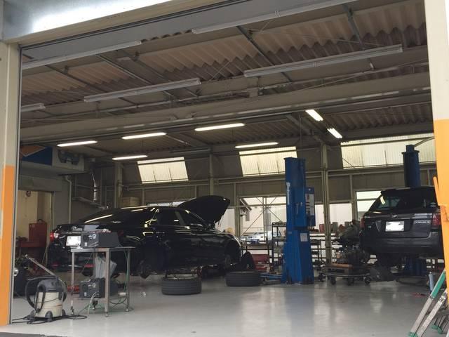 認証工場で安心の車検を!