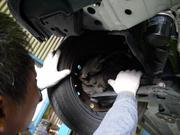 オイル漏れやブレーキの分解整備もおまかせ下さい!