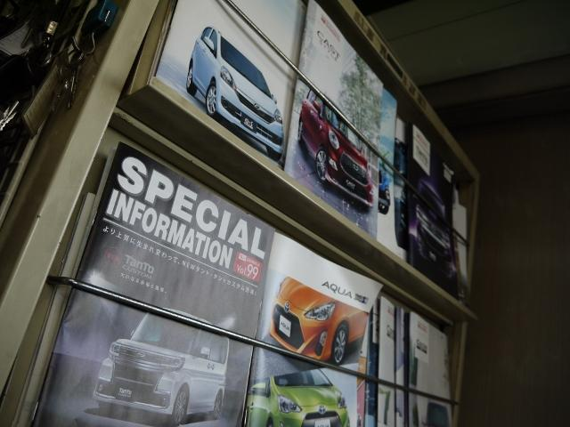 キャンピングカー以外の車両販売も行っております。国産メーカー全てに対応♪