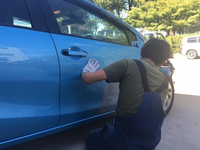 思わぬ事故やうっかりぶつけてしまった愛車の傷や凹み、お任せください!